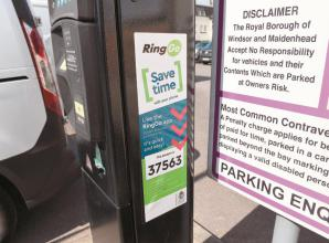 Cashless parking app 20p charge scrapped