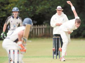 Odell and Basharat impress for Stoke Green but bad light stops play