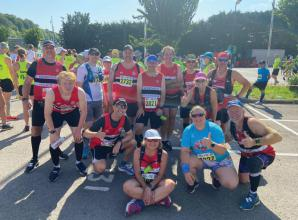 High Wycombe's Hellfire half marathon lives up to its name for MAC members