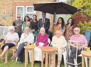 Applegarth care home residents enjoy Indian cultural evening
