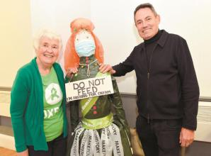 Remarkable Barbara embarks on annual Oxfam fundraiser